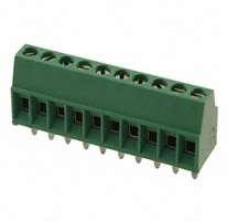 TE Connectivity AMP Connectors - 1-282834-0 - TERM BLOCK 10POS SIDE ENT 2.54MM