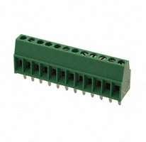 TE Connectivity AMP Connectors - 1-282834-2 - TERM BLOCK 12POS SIDE ENT 2.54MM
