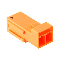 TE Connectivity AMP Connectors - 1-2834049-3 - REC MOD, 2P LATCHED POKE-IN WTW