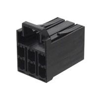 TE Connectivity AMP Connectors - 1318095-1 - CONN RCPT HOUSING 6POS D-3500
