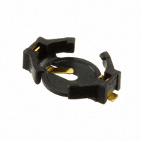 TE Connectivity AMP Connectors - 1318164-1 - RETAINER 6.8MM COIN CELL SMD
