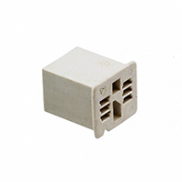 TE Connectivity AMP Connectors - 1375875-1 - CONN PLUG HOUSING 6POS NATURAL