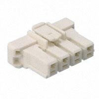 TE Connectivity AMP Connectors - 1376390-1 - CONN HOUSING PLUG 4POS 5MM