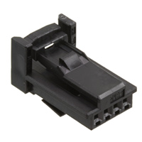 TE Connectivity AMP Connectors - 1379658-1 - 4W RCPT HSG CODING 1 BLAC