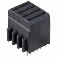 TE Connectivity AMP Connectors - 1410270-2 - CONN RCPT 4POS BACKPLANE VERT
