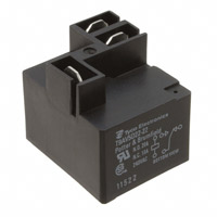 TE Connectivity Potter & Brumfield Relays - T9AV5D22-22 - RELAY GEN PURPOSE SPDT 20A 22V