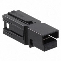 TE Connectivity AMP Connectors - 1445715-7 - CONN HOUSING 1POS BLACK