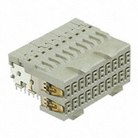 TE Connectivity AMP Connectors - 1469028-1 - CONN RCPT 40POS 2ROW RT ANG T/H