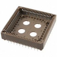 TE Connectivity AMP Connectors - 1571541-4 - CONN SOCKET PLCC 84POS TIN