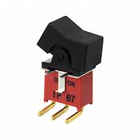 TE Connectivity AMP Connectors - 1571988-1 - SWITCH ROCKER SPDT 0.4VA 20V