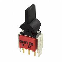 TE Connectivity AMP Connectors - 1571989-7 - SWITCH ROCKER DPDT 0.4VA 20V