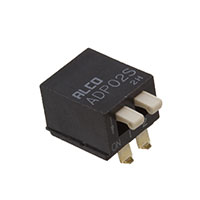 TE Connectivity ALCOSWITCH Switches - 1571999-4 - SWITCH PIANO DIP SPST 100MA 24V