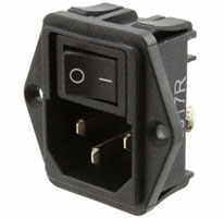 TE Connectivity Corcom Filters - 1-1609112-4 - PWR ENT MOD RCPT IEC320-C14 PNL