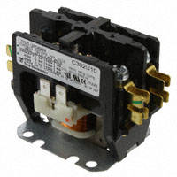 TE Connectivity Potter & Brumfield Relays - 3100-20Q6999 - RELAY CONTACTOR DPST 30A 24V
