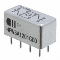 TE Connectivity Aerospace, Defense and Marine - HFW5A1201G00 - RELAY GEN PURPOSE DPDT 5A 12V