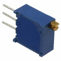 TE Connectivity Passive Product - 1623849-9 - TRIMMER 5K OHM 0.5W TH