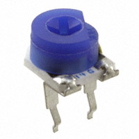 TE Connectivity Passive Product - 416PA103M - TRIMMER 10K OHM 0.2W TH