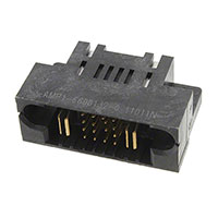 TE Connectivity AMP Connectors - 1-6600132-0 - MBXL RA HDR DB 1P+16S+1P
