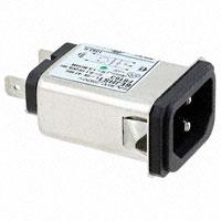 TE Connectivity Corcom Filters - 1-6609008-8 - PWR ENT RCPT IEC320-C14 PANEL QC