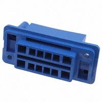 TE Connectivity AMP Connectors - 172061-1 - CONN PLUG HSNG 12POS BLUE PNL MT