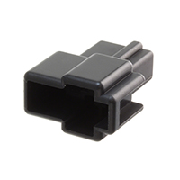 TE Connectivity AMP Connectors - 172129-2 - CONN MALE TAB HSG 0.25 2POS BLK