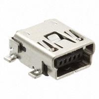 TE Connectivity AMP Connectors - 1734035-1 - CONN MINI B USB R/A SMD