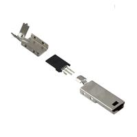 TE Connectivity AMP Connectors - 1734205-1 - MINI USB TYPEB PLUG CABLE KITS