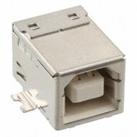 TE Connectivity AMP Connectors - 1734346-4 - CONN RCPT USB B WHT 4POS R/A SMD