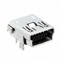TE Connectivity AMP Connectors - 1734510-2 - MINI USB,RCPT, R/A, DIP, B TYPE,