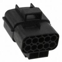 TE Connectivity AMP Connectors - 174657-2 - CONN CAP HOUSING 10POS BLACK