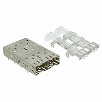 TE Connectivity AMP Connectors - 1761007-2 - SFP 1X2 CAGE & LIGHT PIPE KIT