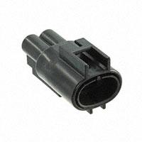 TE Connectivity AMP Connectors - 176143-2 - CONN MALE TAB HSG 0.187 2POS BLK