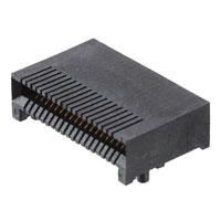 TE Connectivity AMP Connectors - 1761987-9 - CONN RCPT 38POS QSFP 30GOLD SMD