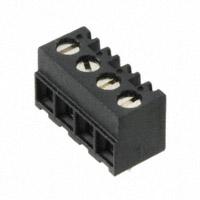 TE Connectivity AMP Connectors - 1776113-4 - TERM BLOCK 4POS SIDE ENT 3.81MM
