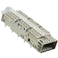 TE Connectivity AMP Connectors - 1888972-3 - CAGE ASSY PCI HSINK LP QSFP THRU
