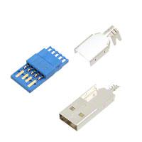 TE Connectivity AMP Connectors - 1932266-1 - CONN PLUG USB 3.0 A BLUE