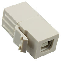 TE Connectivity AMP Connectors - 1933661-1 - INSERT USB-B RCPT TO USB-A RCPT
