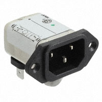 TE Connectivity Corcom Filters - 1EEA2 - PWR ENT RCPT IEC320-C14 PANEL QC