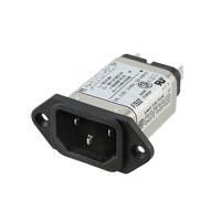 TE Connectivity Corcom Filters - 6609001-1 - PWR ENT RCPT IEC320-C14 PANEL QC