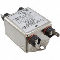 TE Connectivity Corcom Filters - 1VR1 - LINE FILTER 250VAC 1A CHASS MNT