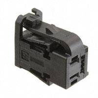 TE Connectivity AMP Connectors - 2035077-1 - PLUG HSG, 4 POSN HYBRID 0.64/2.8