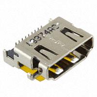 TE Connectivity AMP Connectors - 2041433-1 - HDMI RCPT A_RVS OFFSET DIP