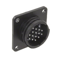 TE Connectivity AMP Connectors - 207292-1 - CONN RCPT 16POS PNL MNT PIN SLDR