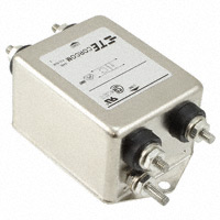 TE Connectivity Corcom Filters - 4-1609037-3 - LINE FILTER 250VAC 20A CHASS MNT