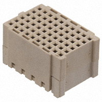 TE Connectivity Aerospace, Defense and Marine - 2102080-3 - CONN RCPT 60POS VERT 12MM GOLD