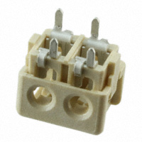 TE Connectivity AMP Connectors - 2106489-2 - CONN IDC HOUSING 2POS 18AWG T/H