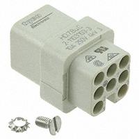 TE Connectivity AMP Connectors - 2-1103003-3 - INSERT FEMALE 7POS+1GND CRIMP
