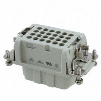 TE Connectivity AMP Connectors - 2-1103009-3 - INSERT FEMALE 24POS+1GND CRIMP