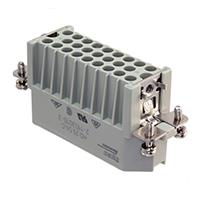 TE Connectivity AMP Connectors - 2-1103010-3 - INSERT MALE 25POS+1GND CRIMP