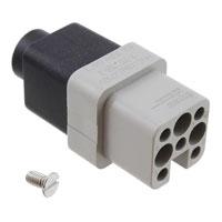 TE Connectivity AMP Connectors - 2-1103101-3 - INSERT FEMALE 7POS+1GND CRIMP